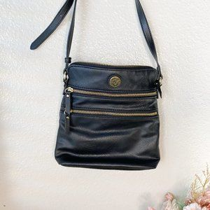 Anne Klein Black Crossbody Bag